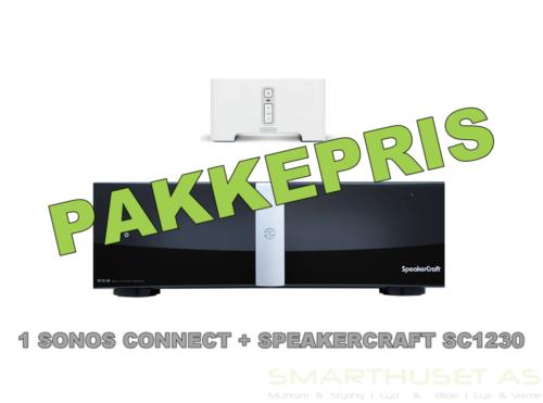 Bundle: 1 x Sonos Connect + 1 x SpeakerCraft SC1230