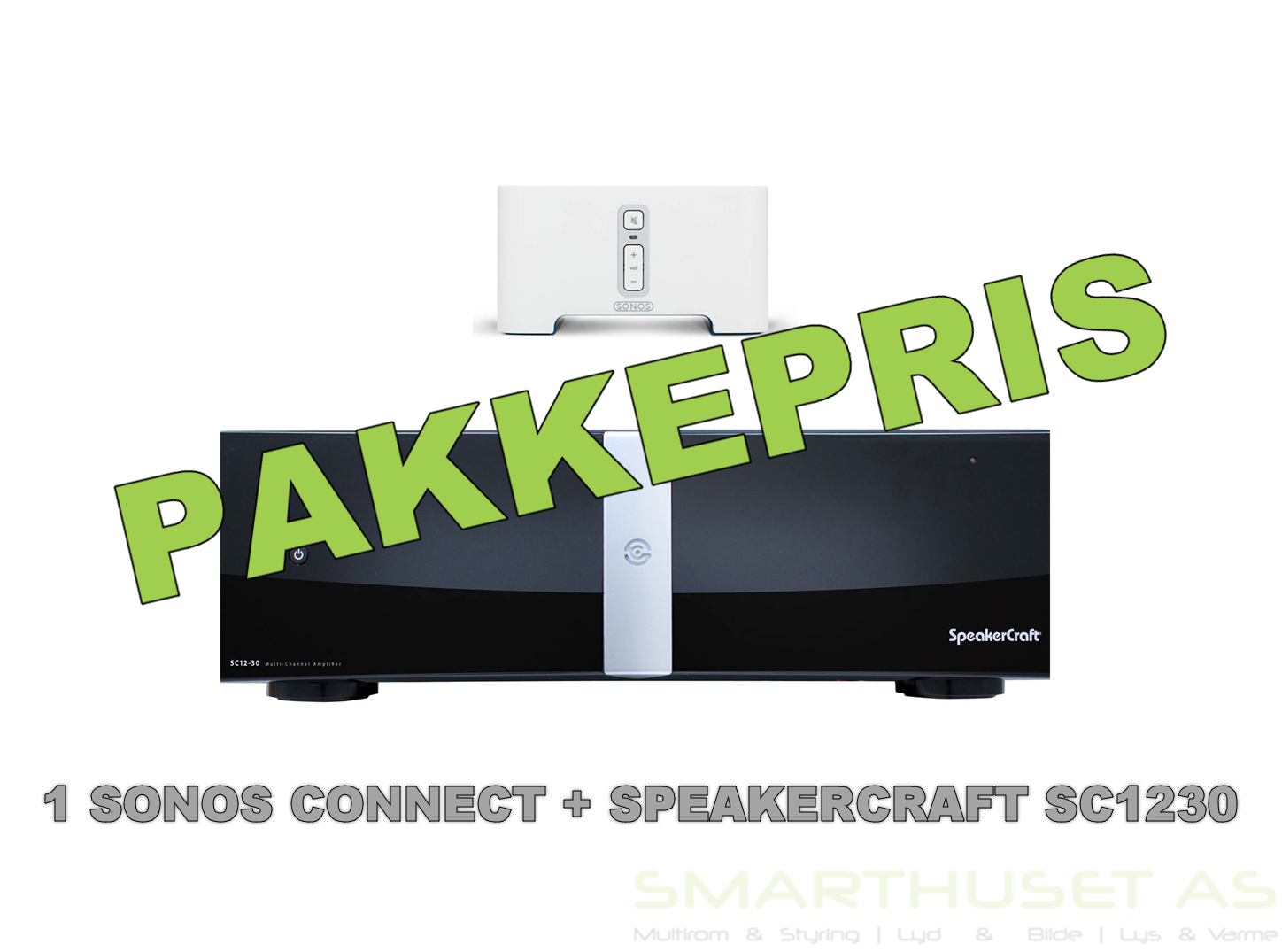 Bundle: 1 x Sonos Connect + 1 x SpeakerCraft SC1230