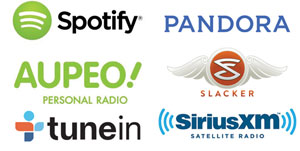 NET-Play Spotify, Aupeo, Pandora, Tunein - Smarthuset AS
