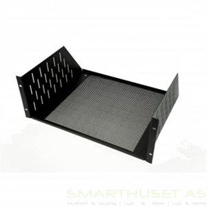 "Penn Elcom 4U Rack Shelf Vented 368.2mm/14.5"" Deep R1194/4UVK"