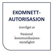 Ekomnett autorisasjon tildelt Smarthuset AS - Norges ledende innen smarthusløsninger